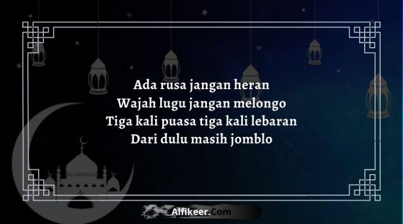 Pantun Lucu Bulan Ramadhan