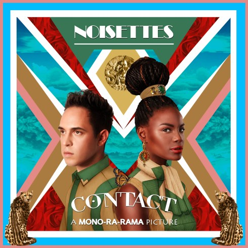 noisettes contact album cover
