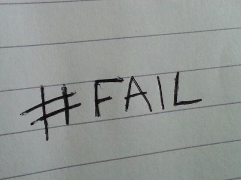 hashtag fail