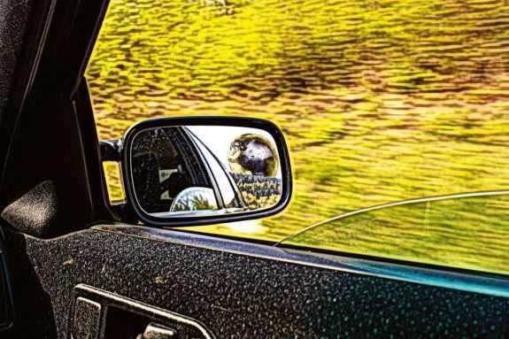 Im Autospiegel