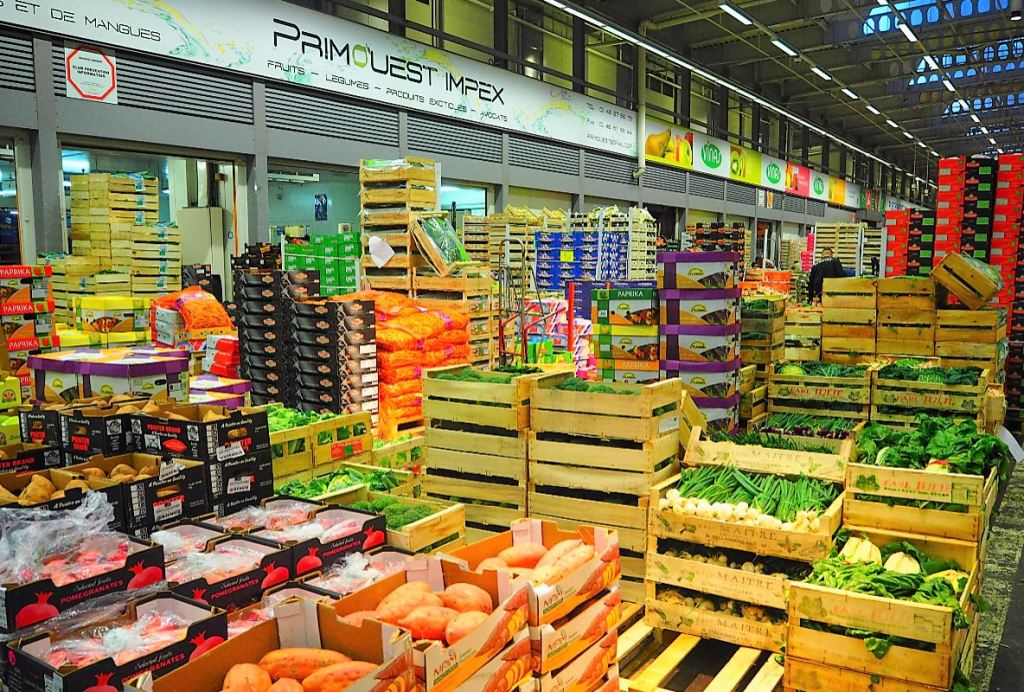 Marché International de Rungis MIN - Visite pavillon des fruits et légumes