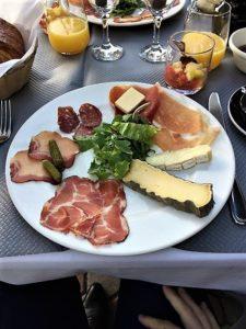 MIN Rungis restaurant l'Olivier petit déjeuner terroir