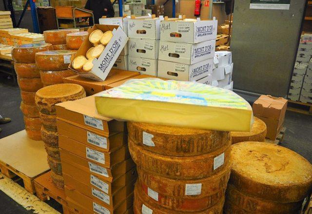 MIN de RUNGIS Fromages et produits laitiers