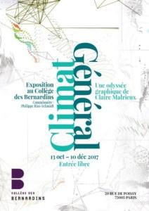 Climat Général Exposition Collège des Bernardins Paris