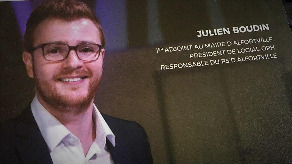 Julien Boudin Alfortville adjoint au maire président LOGIAL