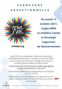 LOGIAL Grève mardi 17 octobre 2017