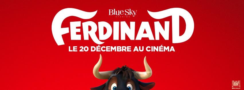 Ferdinand au cinéma le décembre invitation gratuite