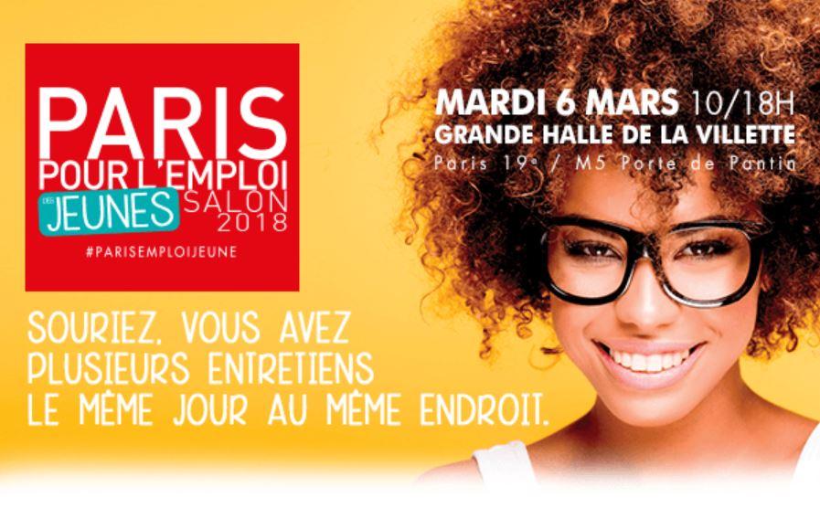 Paris pour l'emploi des jeunes 6 mars 2018