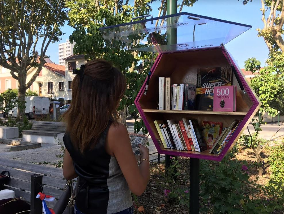 Inauguration boite à livres Alfortville