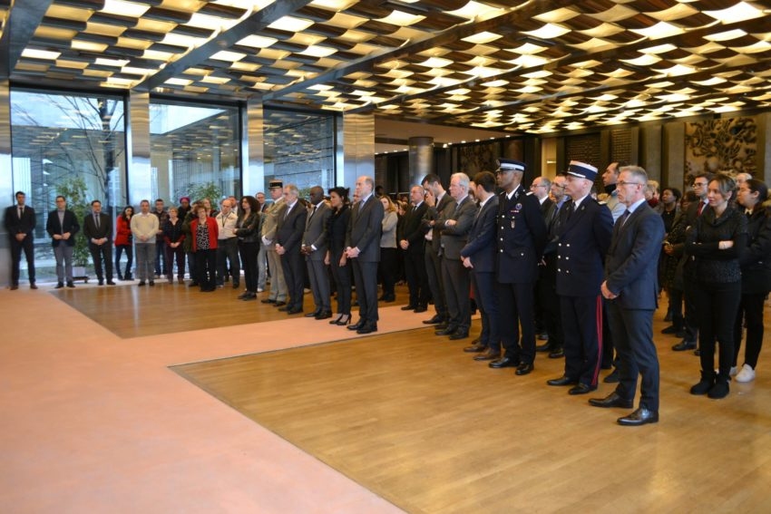 Salle des fêtes et cérémonie officielle Préfecture du Val-de-Marne - Photo via Facebook Prefet94