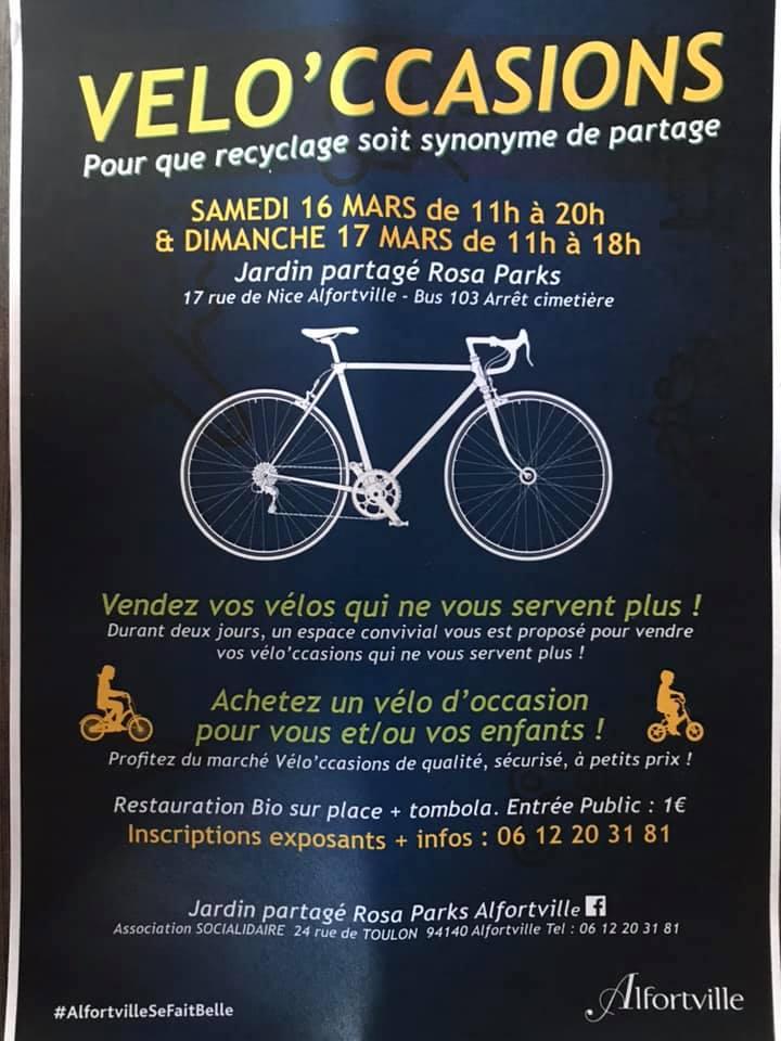 Alfortville bourse aux vélos occasions