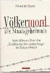 Volkermord Als Staatsgeheimnis Olzog Verlag Munchen   Seiten Register Faksimiles Isbn