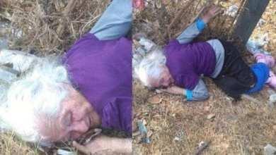 Photo of Abandonan a anciana de 85 años en basurero