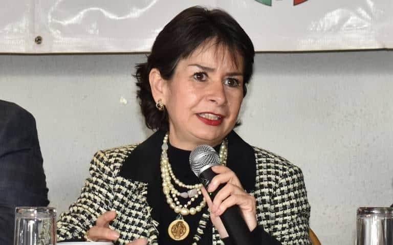 Edna Mireya Pérez Corona dirigente local del PRI en Tijuana