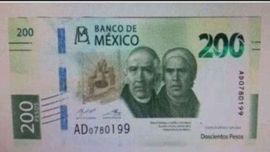Photo of Nuevo billete de 200 pesos entra en circulación, ¡Se va Sor Juana!
