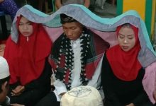 Photo of Hombre se casa con sus dos novias y en la misma ceremonia