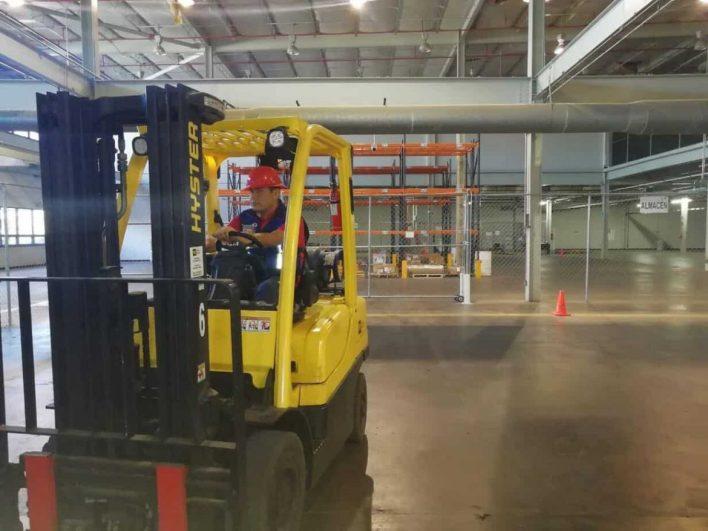 patio operaciones hangar de Matrix en aeropuerto de Tijuana