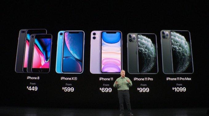 Apple presenta iPhone 11