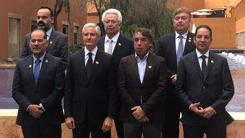 Gobernadores en reuinión CRIT