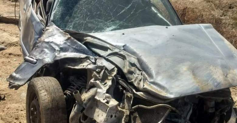 Accidente donde muere mujer