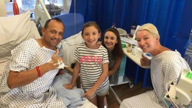 Photo of Madre le dona un riñón a su exesposo para que sus hijas no se queden sin padre