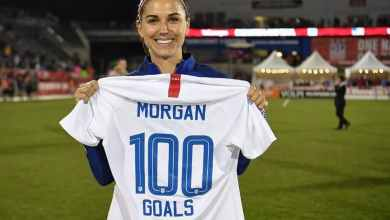 Photo of La futbolista Alex Morgan anuncia su embarazo