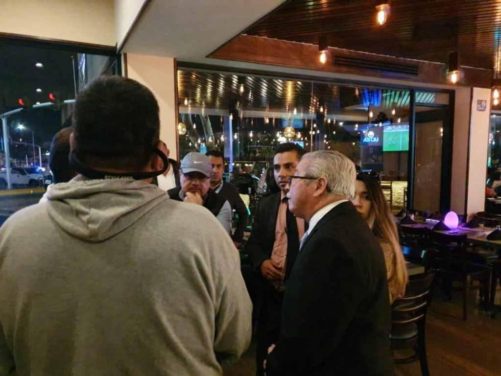 Clausuran restaurante de Tijuana