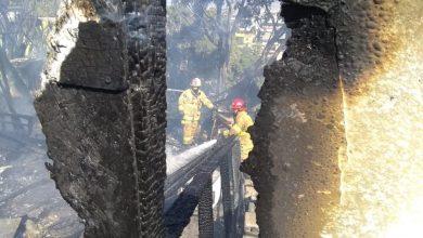 Photo of Bomberos atienden decenas de incendios por condición Santa Ana