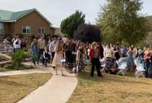 Photo of Miles de asistentes y con fuertes medidas de seguridad el funeral de víctimas LeBarón