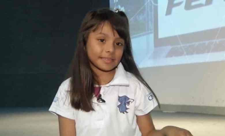 Photo of La niña genio mexicana con coeficiente más alto que Einstein