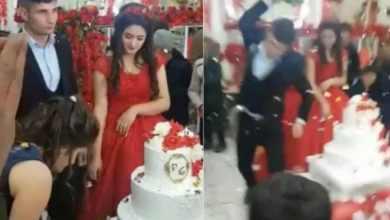 Photo of Indigna reacción histérica de un hombre en su propia boda