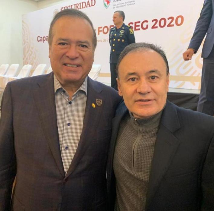González Cruz y Alfonso Durazo