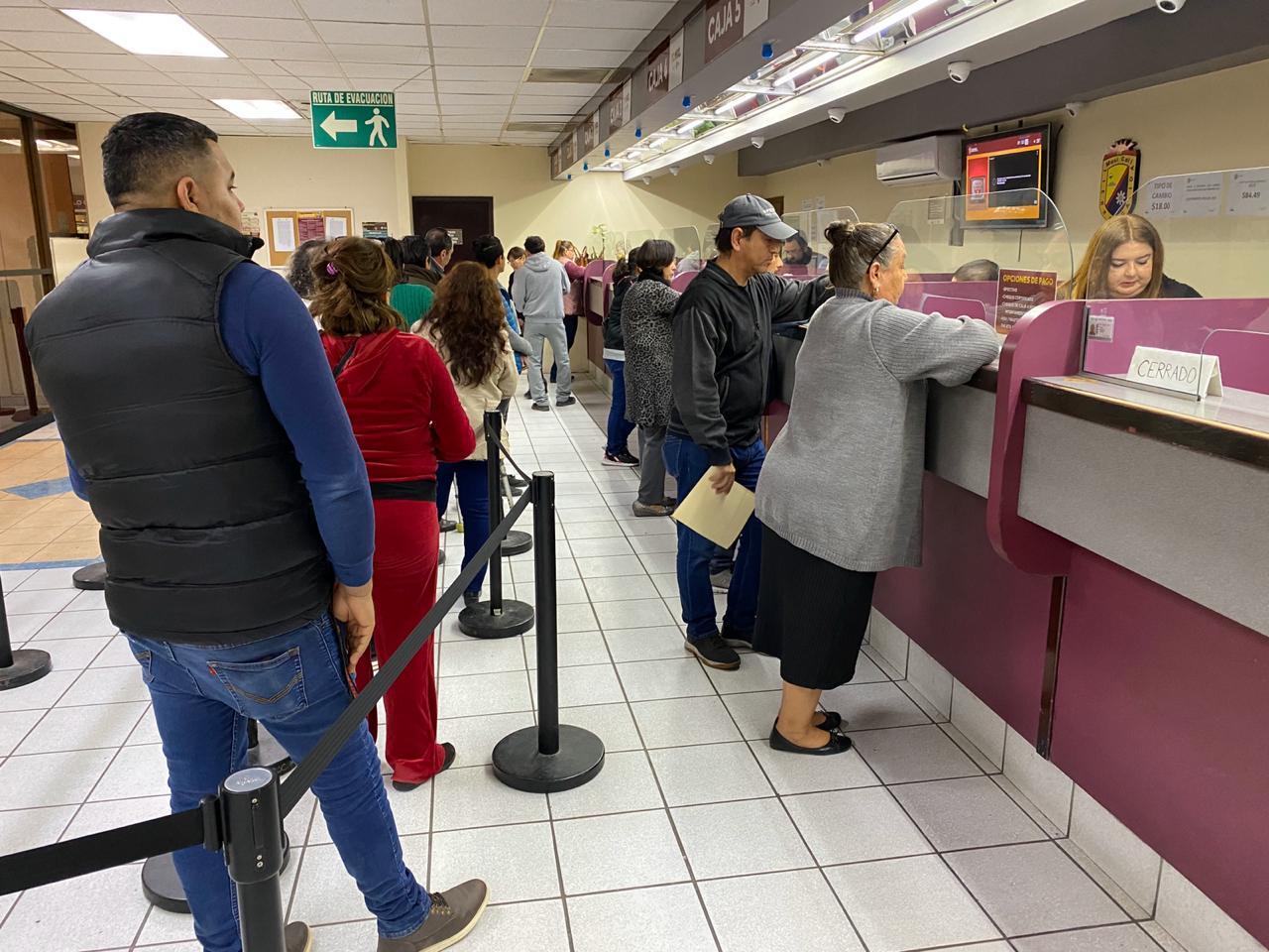 Abrirán cajas de recaudación de rentas municipales sábados y domingos en Mexicali