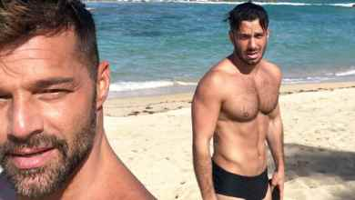 Photo of Captan a esposo de Ricky Martin junto a otros hombres