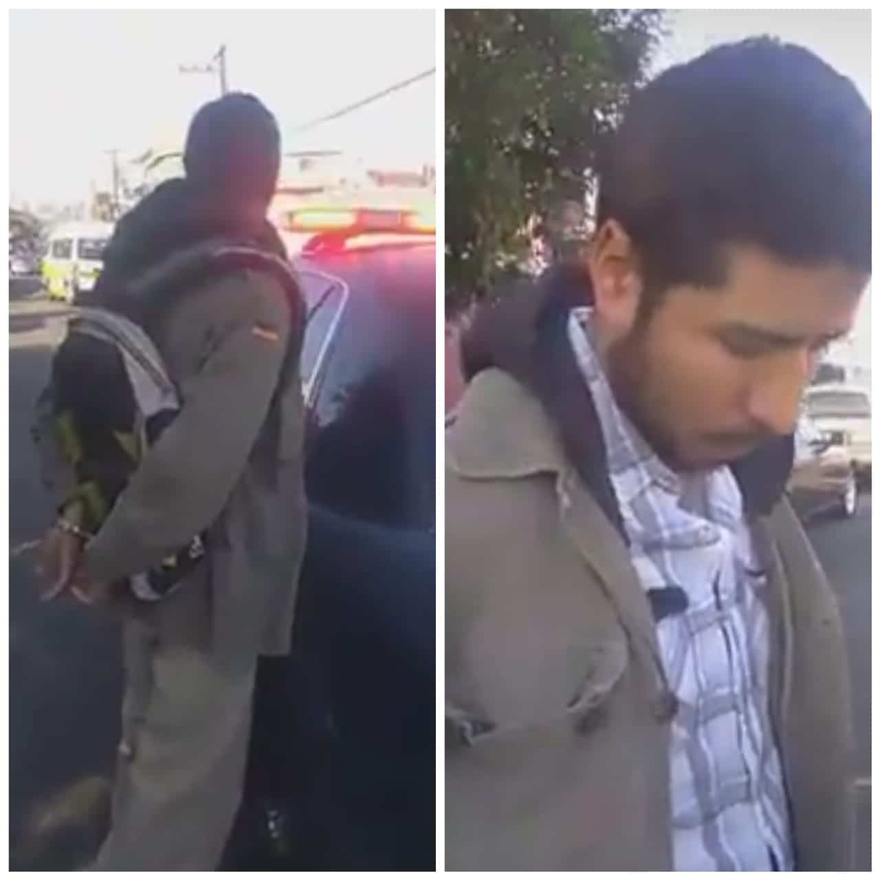 Bajan a sujeto por manosear a estudiante en el Taxi