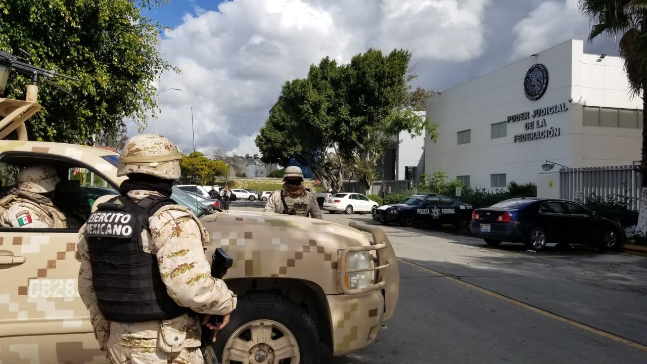 Gran operativo por traslado de 9 detenidos a los juzgados federales
