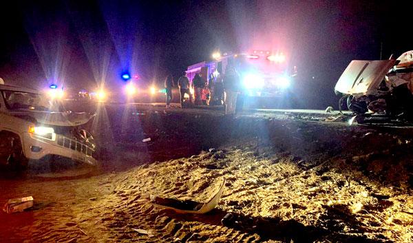 Un muerto y dos heridos fue el saldo de un accidente automovilístico ocurrido en la carretera estatal 3, a la altura del ejido Morelia.