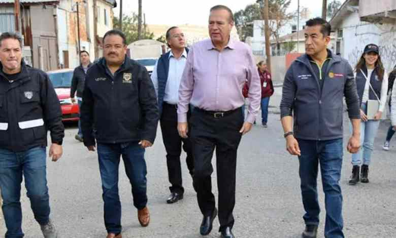 Presidente Municipal supervisa obra de bacheo y pluvial