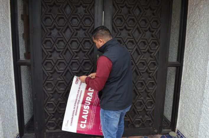 CESPT clausura 'Hotel Las Rocas'