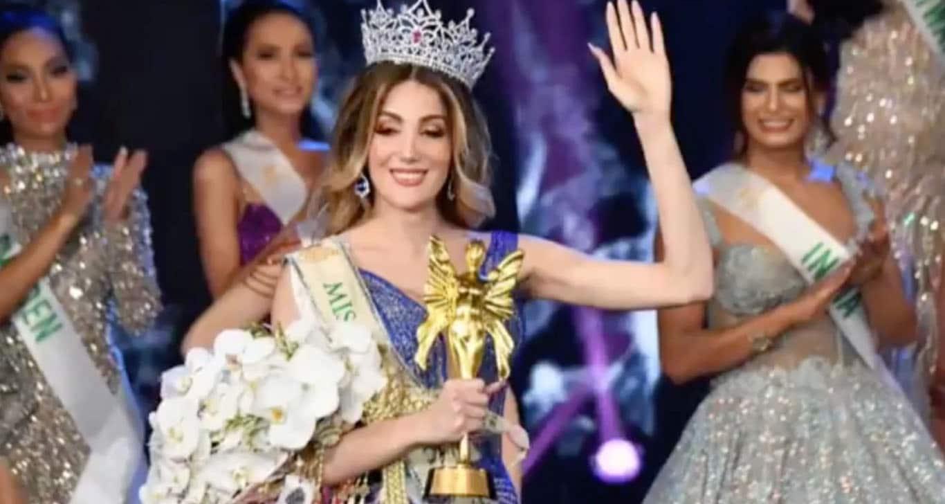 Valentina Fluchaire la 'mexicana' que gana concurso de belleza en Tailandia