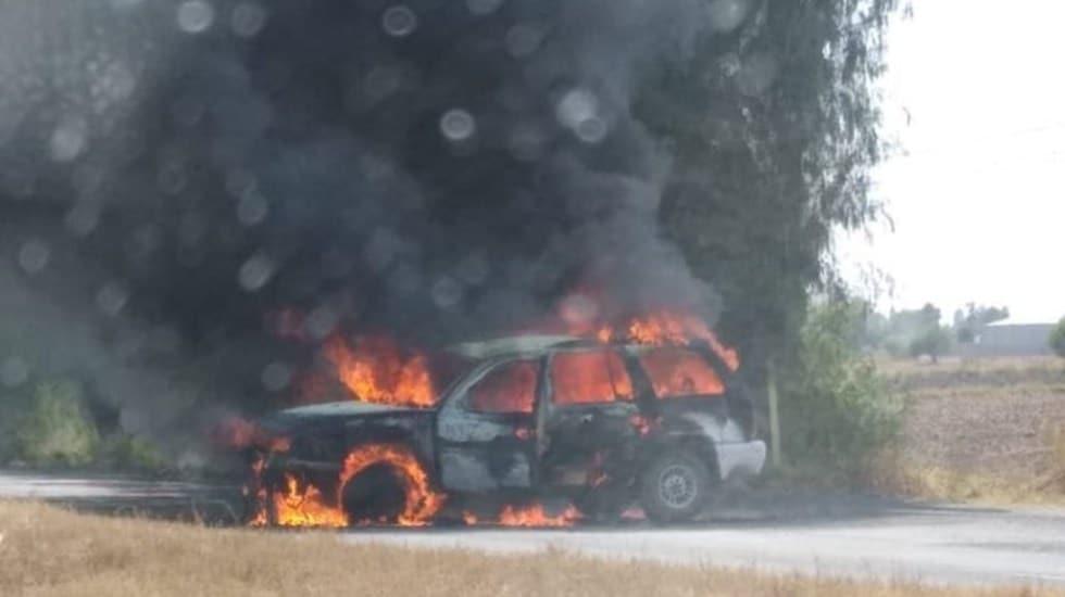 Arde Guanajuato con narcobloqueos