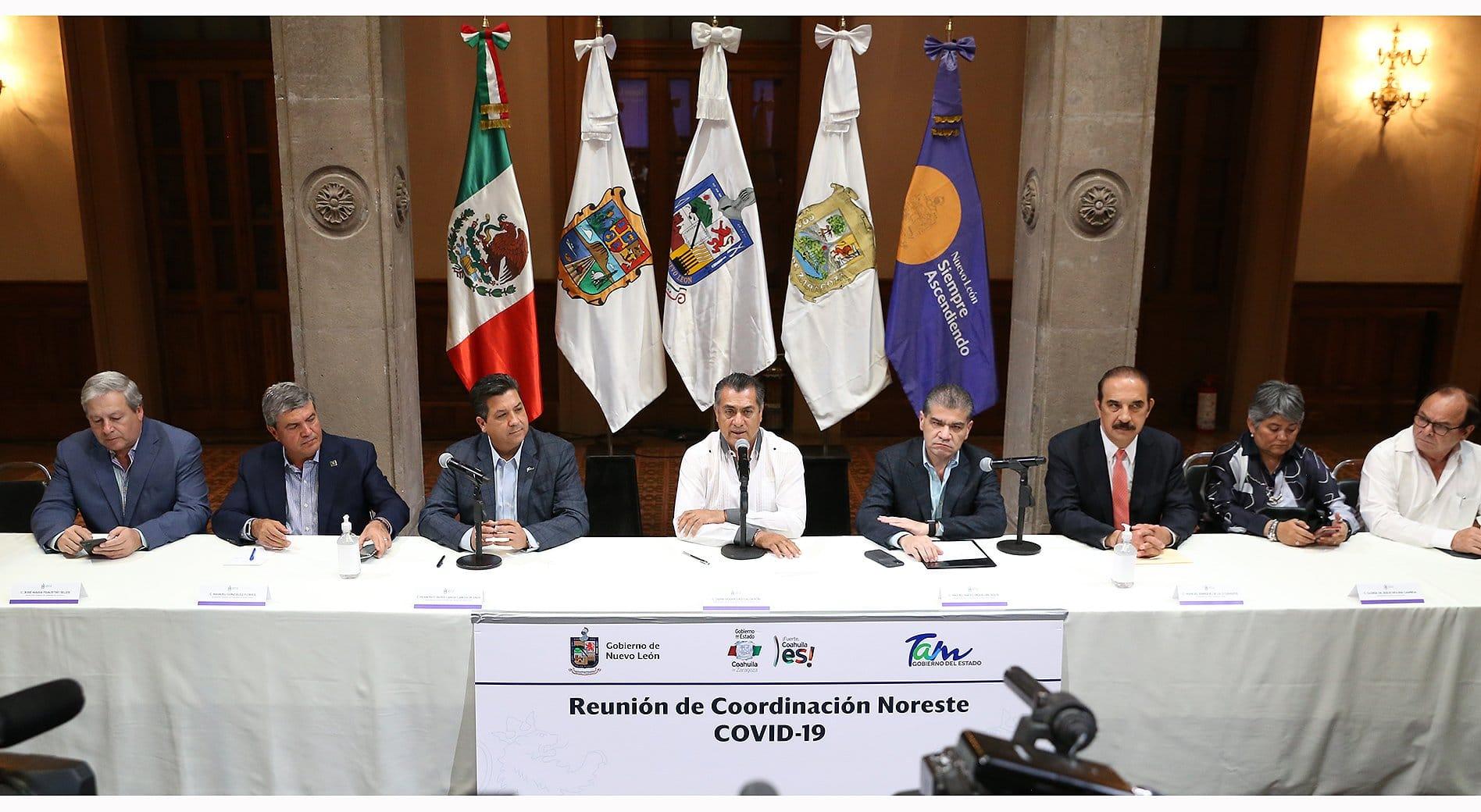 Estados del noreste 'sellarán' la frontera para evitar contagios de covid-19