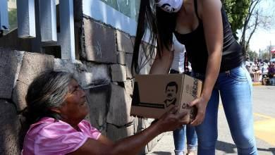 Photo of VIDEO: Hija de El 'Chapo' Guzmán entrega despensas y mascarillas