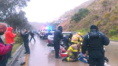 Photo of Fuerte accidente en el Rosas Magallón
