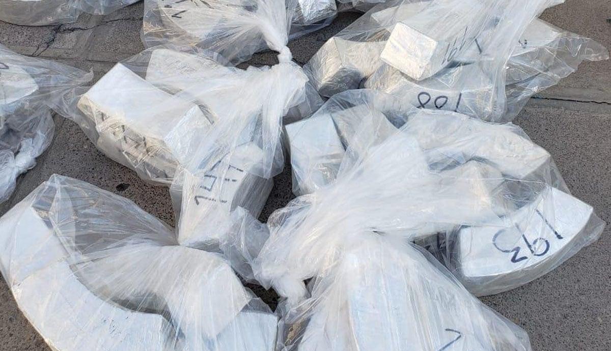 Fuerte decomiso de droga valuada en más de 200 millones de pesos