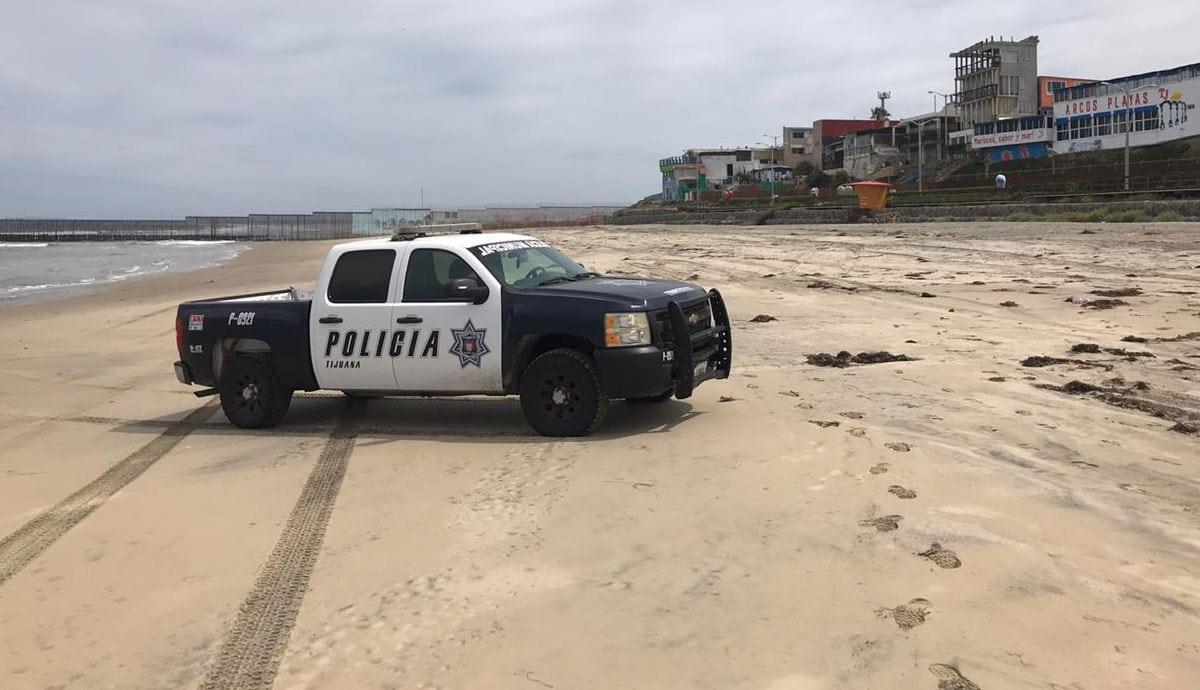 Operativo en Playas de Tijuana