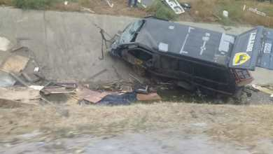 Photo of Auto se destroza en accidente; muere el conductor