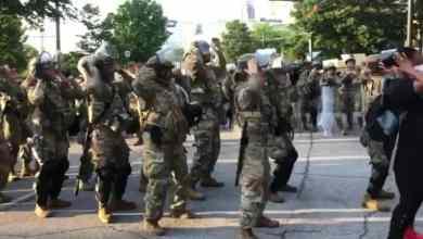 Photo of VIDEO: Guardia Nacional baila 'La Macarena' en Atlanta