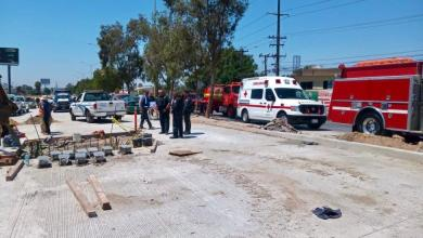 Photo of Se accidentan trabajadores en obra de CESPT