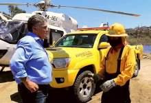 Photo of Ruiz Uribe agradece a combatientes de incendios forestales en BC